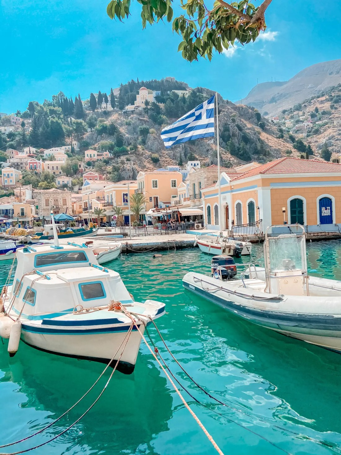 Water Taxi Boat Trips Symi