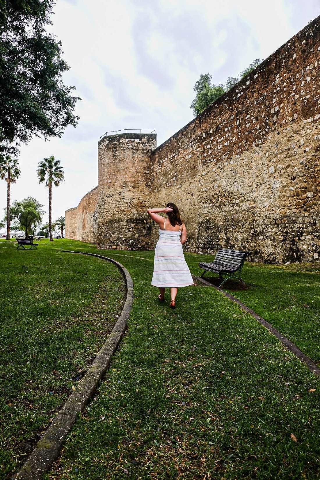 Old Town Faro City Walls