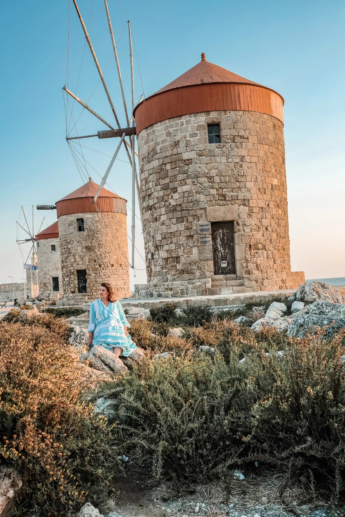 Solo Trips to Greece in Rhodes