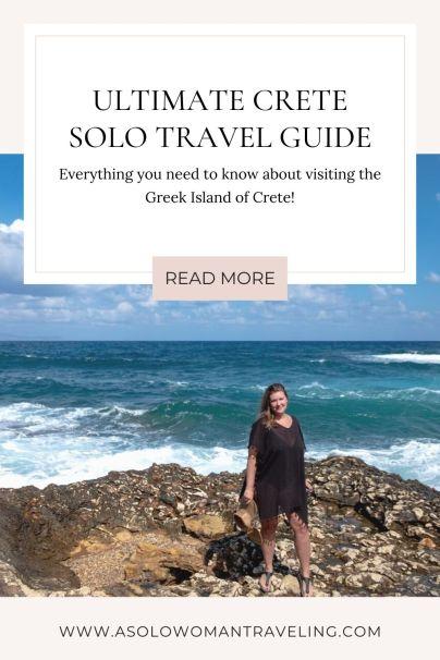Ultimate Crete Solo Travel Guide