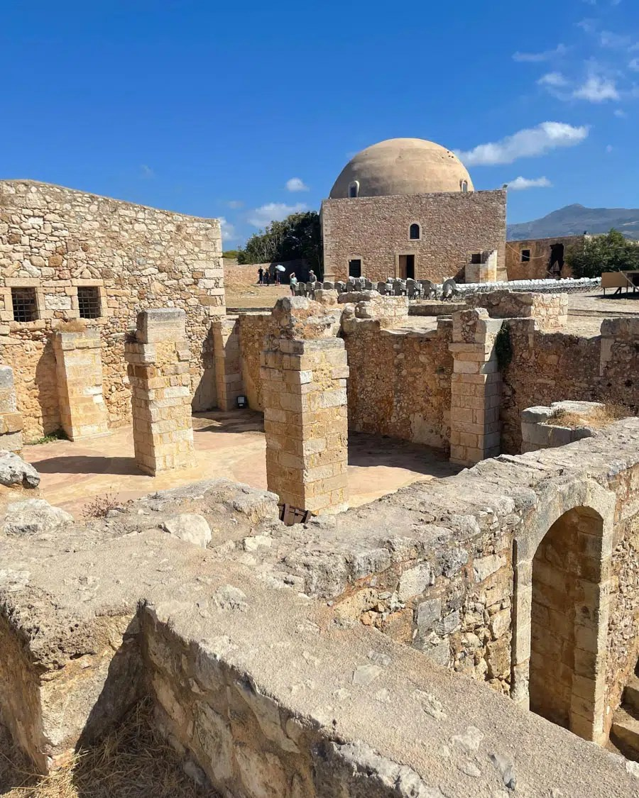 Crete Solo Travel Guide Fortress