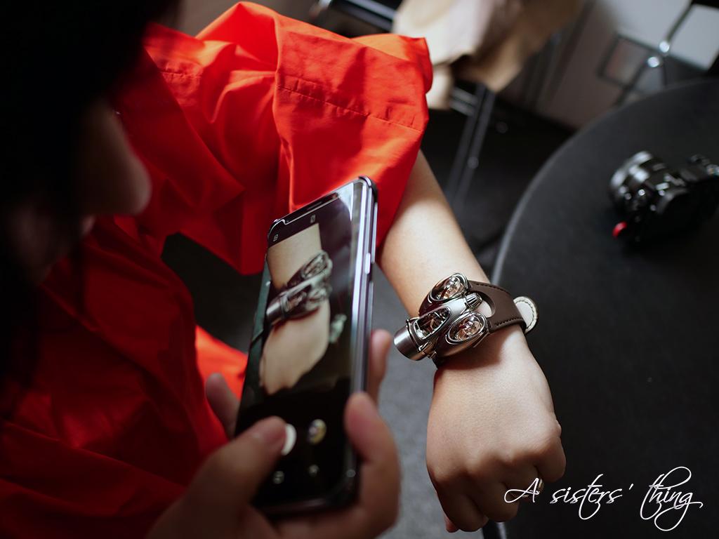 MAD Gallery MB&F HM9 Wristshot Diana