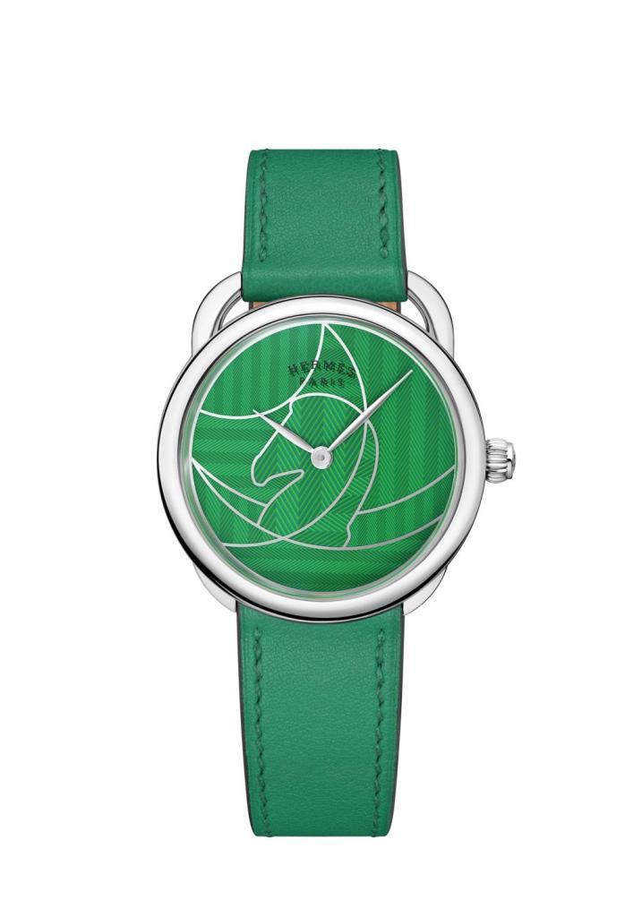 Hermes Arceau Casaque green