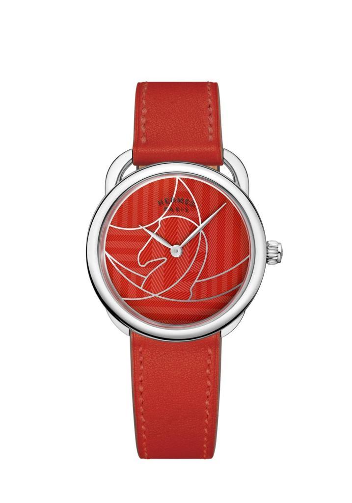 Hermes Arceau Casaque red