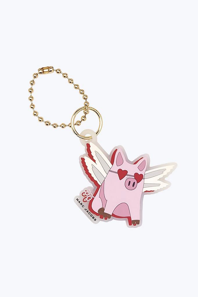 Marc Jacobs Pig keychain