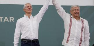 Alfredo del Mazo y Andrés Manuel López Obrador