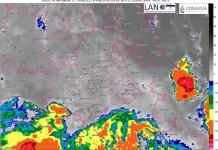 Se pronostican lluvias por la tarde en el valle de Toluca (Foto: SMN).
