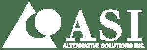asi: white logo