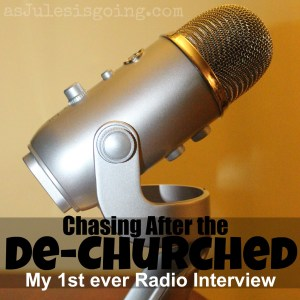 Chasing After the De-Churched a radio interview with Vivienne McNeny