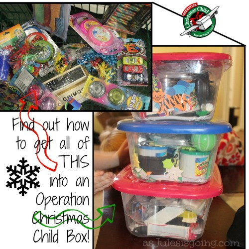 How to pack an Operation Christmas Child Box