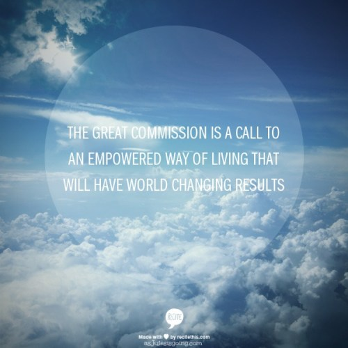 empowered way of living that will have world changing results