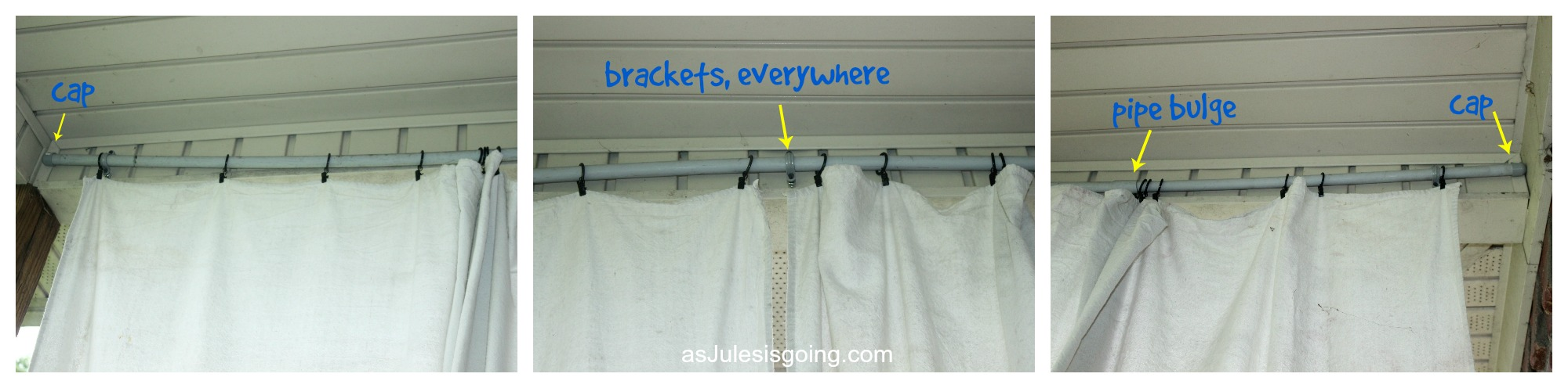 DIY Outdoor Curtains Issues