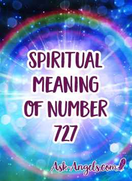 spiritual meaning of number 727
