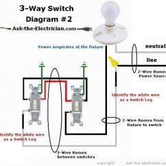 Wiring Diagram 3 Way Light Switch Mazda 6 How To Wire Three Switches Part 1 Threewayswiitchdiagram 2