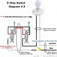 Wiring Three Way Switch Diagram Solar Panel Installation Diagrams For 3 Switches