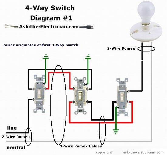 3 way wire diagram
