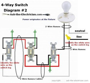 How to Wire a 4 Way Switch