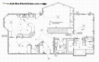 Home Electrical Wiring Circuit