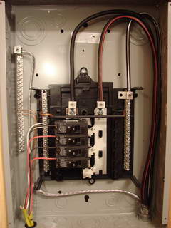 100 Amp Fuse Box Installing A Workshop Panel For A Welder