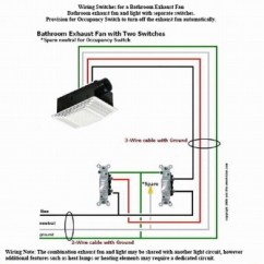 Bathroom Exhaust Fan With Light Wiring Diagram 1993 Honda Accord Engine Electrical Simple Great Installation Of Way 1 Switch Get Free Image About Outlets
