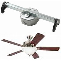 ceiling fan box. replacing ceiling light fixtures with fans fan box