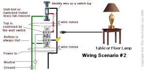 How to Wire a Switched Outlet with Wiring Diagrams