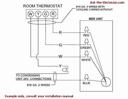 furnace wiring diagram thermostat  best fusebox and wiring