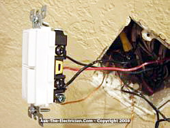 ceiling fan wiring diagram double switch 150cc quad bike great installation of how to install a and wire the rh ask electrician com pull