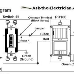 Leviton 3 Way Motion Sensor Switch Wiring Diagram Stihl Fs 55 Carburetor Installing A Occupancy For Bath Exhaust Fan