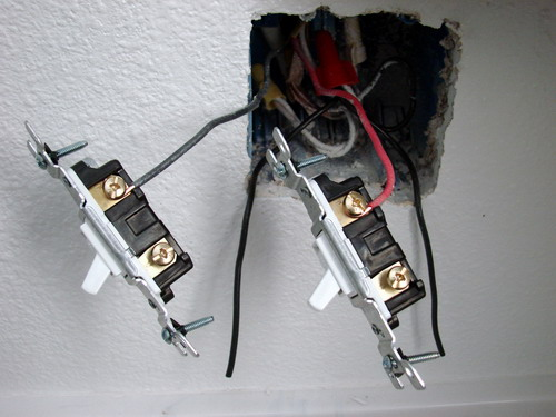 Wiring A Bathroom Light And Fan On Separate Switch