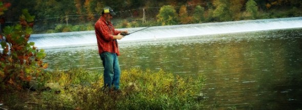 Choosing a fishing rod length relates to how you fish.