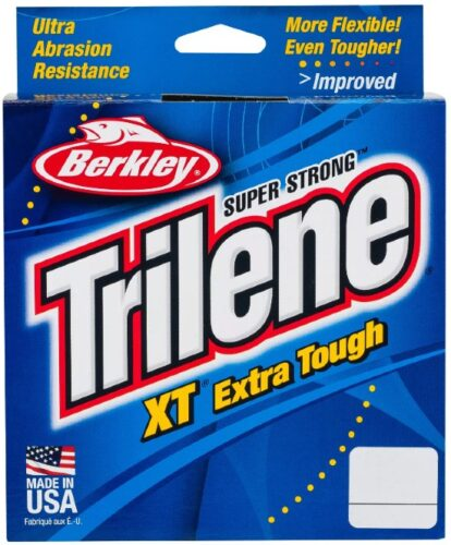 Berkley Trilene-XT are quality monofilament fishing lines for budget anglers