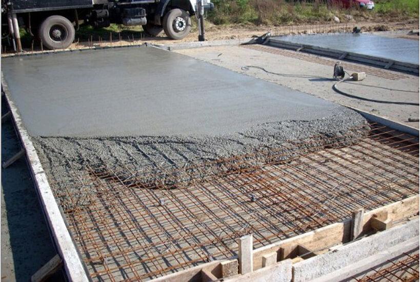 технология заливки плитного фундамента