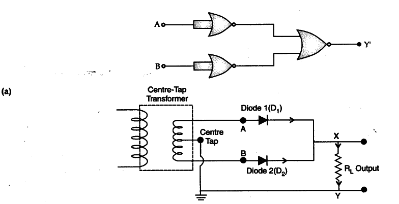 Explain Briefly, With The Help Of Circuit Diagram, The