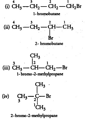 Write the isomers of the compound having formula $C_{4}H
