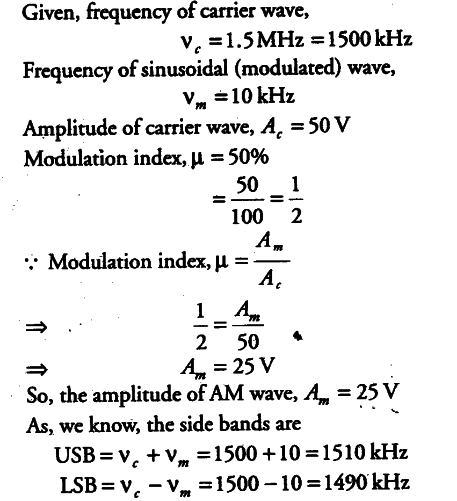 Define modulation index.Why is its value kept,in practice