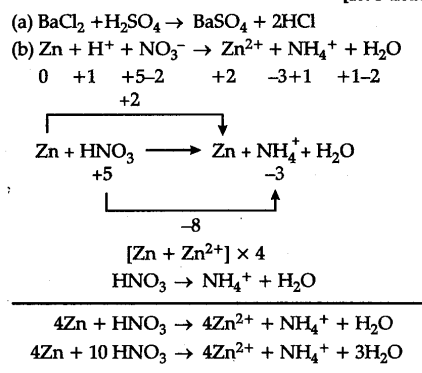 Give one example of a chemical reaction which is not a