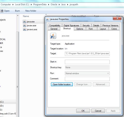 java-runtime-shortcut-windows