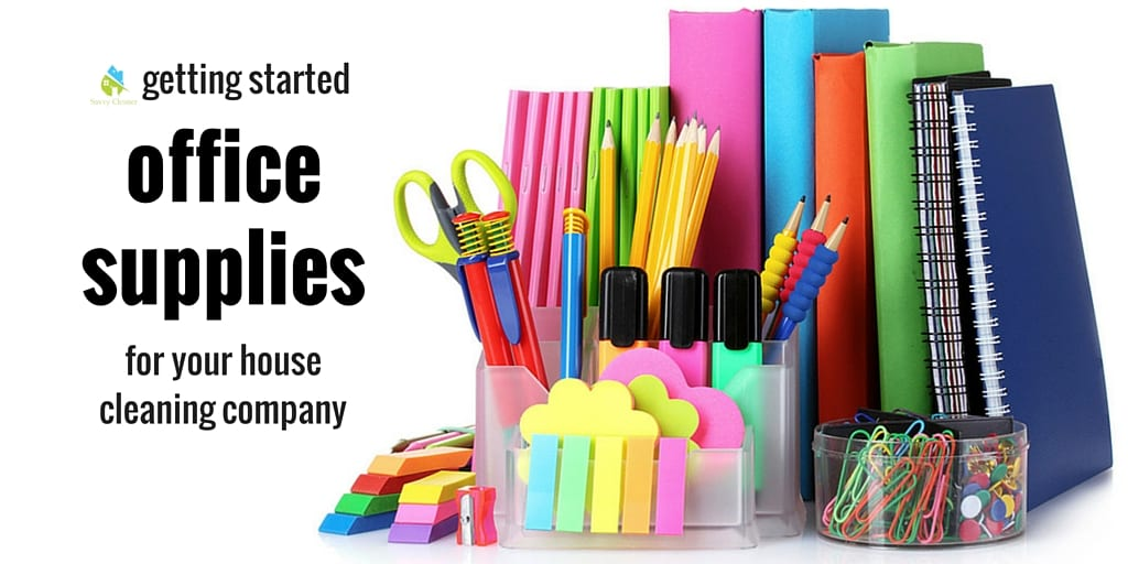 House Cleaning Company Office Supplies SavvyCleaner  Ask