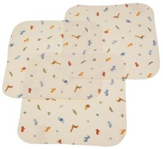 Flannel Lap Pads shield your lap and other surfaces when carrying a diaper-free baby.