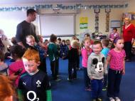 Teaching the Walls of Limerick today in Ballyellis NS (1)