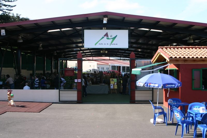 Entrance of the market