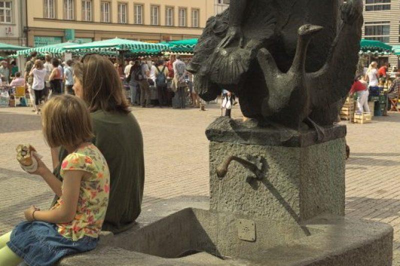 The famous Marketbärbel - market barbara