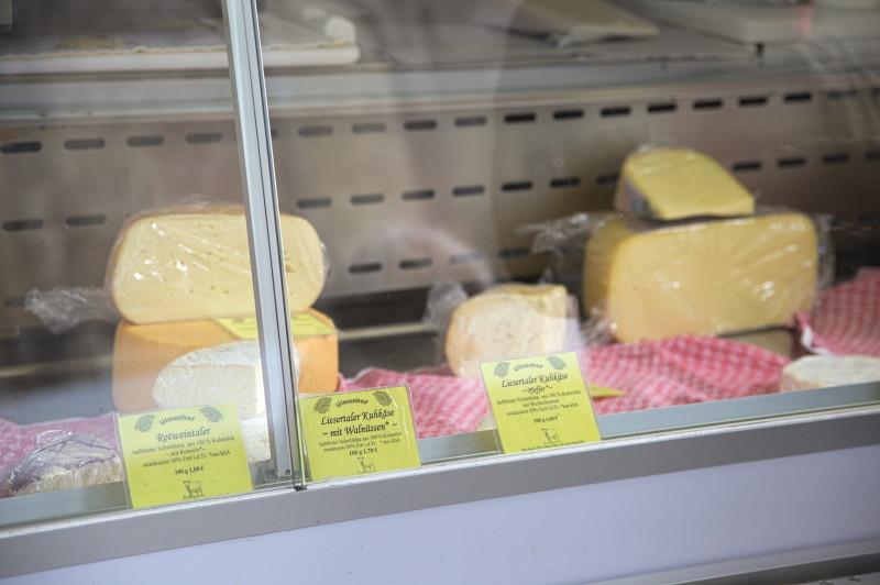 Cow milk cheese