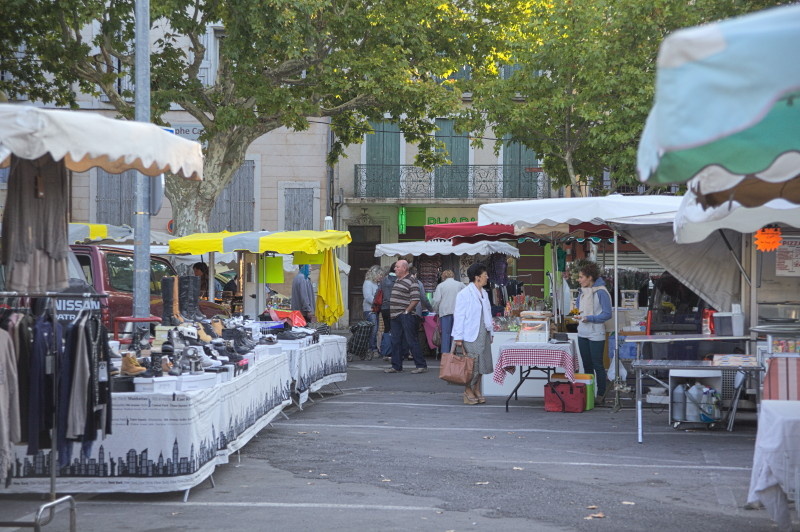 Flea & food market at once