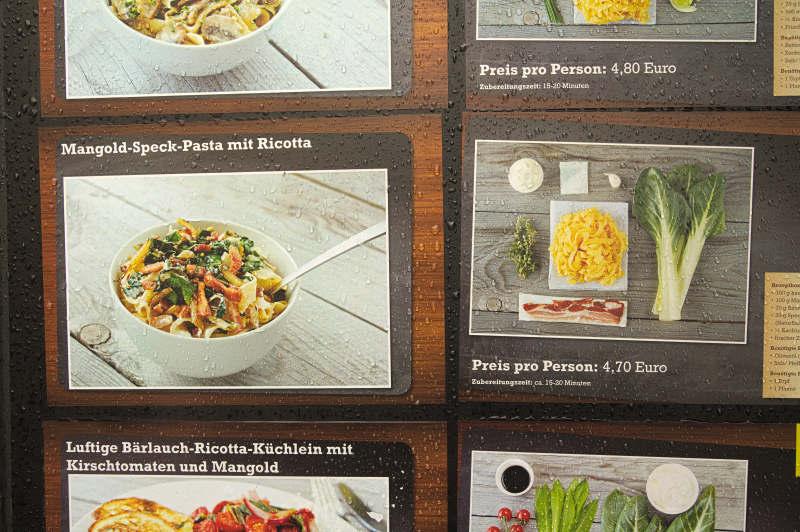 The recipe board