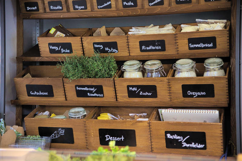 Boxes for condiments