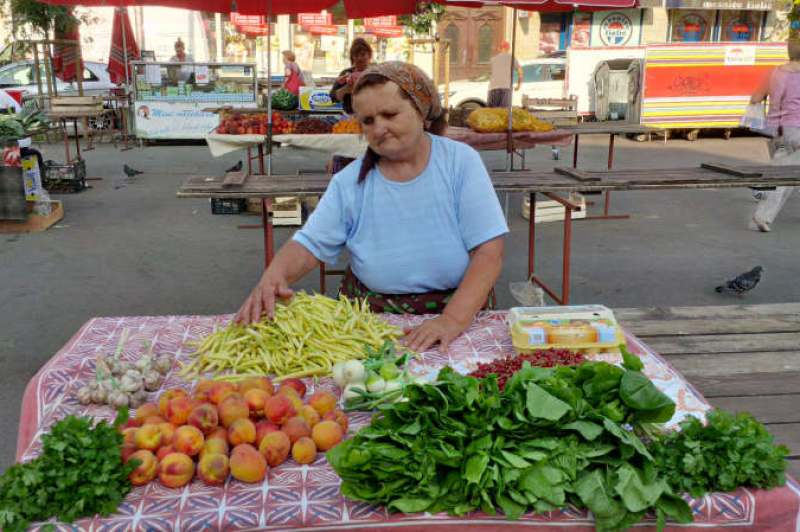 Lady of the Britanski market
