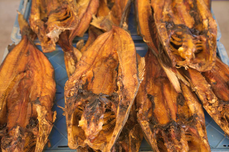 Dried & smoked cod?