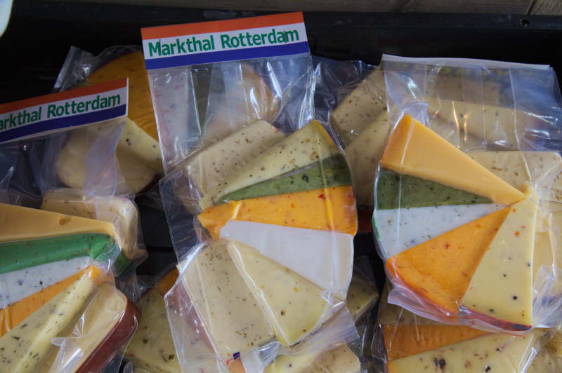 Cheese selection for tourists